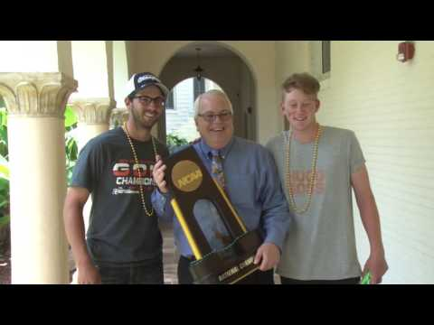 National Championship Trophy Tours Saint Leo Campus