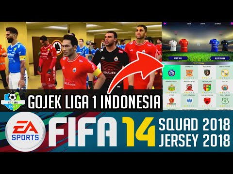 Fifa 14 MOD 19 Gojek Liga 1 Indonesia | Update Transfer & Kits 2018 | Download Apk Data Game Android