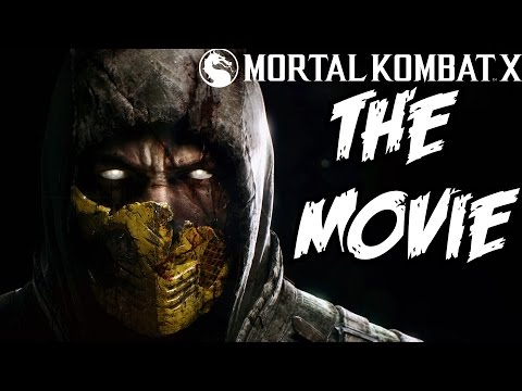 Mortal Kombat X The Movie All Cinematic Cutscenes 1080P HD 60 FPS PS4 Xbox One PS3 Xbox 360 PC