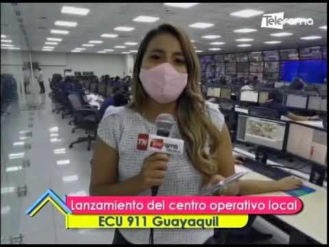 Lanzamiento del centro operativo local ECU 911 Guayaquil