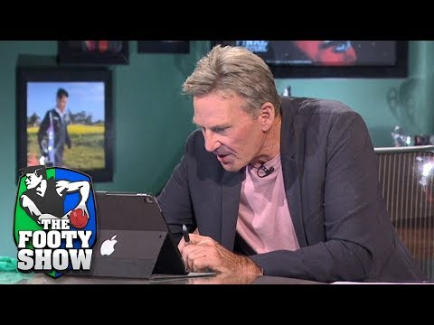 Newman Responds To Social Media Questions From Home Viewers | AFL Footy Show 2018