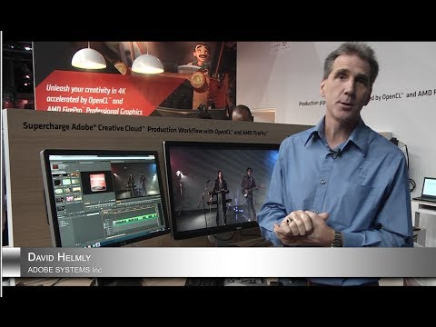 dhelmly - I've been getting a lot requests to show off our new OpenCL support and the AMD FirePro cards like the W series and while I was at IBC 2013, we took the time...