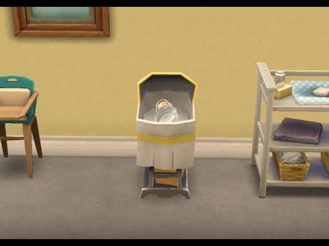 《The Sims 模擬市民手機版》發現好友家的小嬰兒與人物身上著火的狀態!