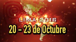 """Conferências das Américas 2016 """"Pescadores"""""""