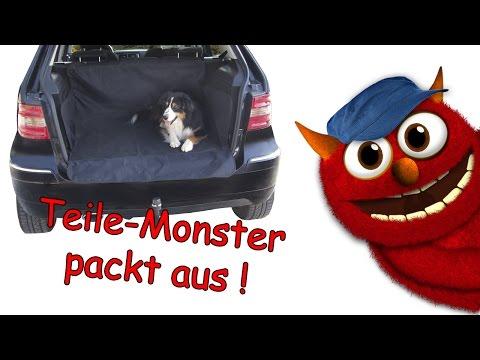 DINO universelle Kofferraum-Schutzdecke - Schonzeit für dein Auto