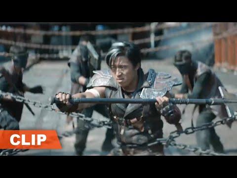 【铁甲狂猴之决战黎明 Iron Monkey2】雷霆身缠铁链依旧以一敌百,众人皆是手下败将
