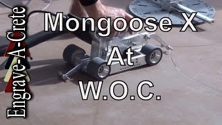 Mongoose X Demo at World of Concrete