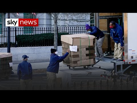 Trump: Removal men at the White House amid fears over inauguration