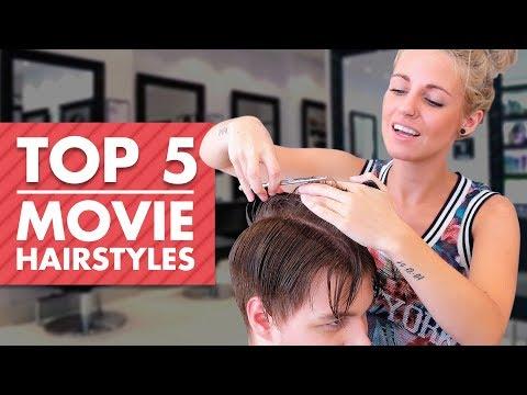 Mens hairstyles - TOP 5 Movie Hairstyles  Men Hair Inspiration