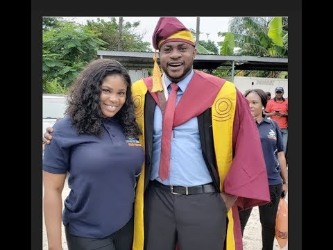 Odunlade Adekola's Wife, Eniola Ajao & Others Attends Odunlade Convocation At University Of Lagos