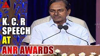Video K. Chandrashekar Rao Speech At ANR Awards MP3, 3GP, MP4, WEBM, AVI, FLV Desember 2018