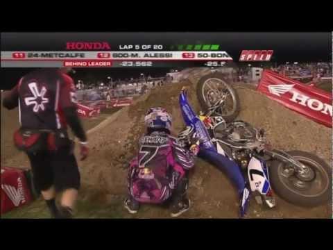 EVERY CRASH from the 2011 AMA Supercross Season HD
