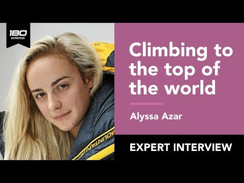 Alyssa Azar - Climbing to the Top of the World