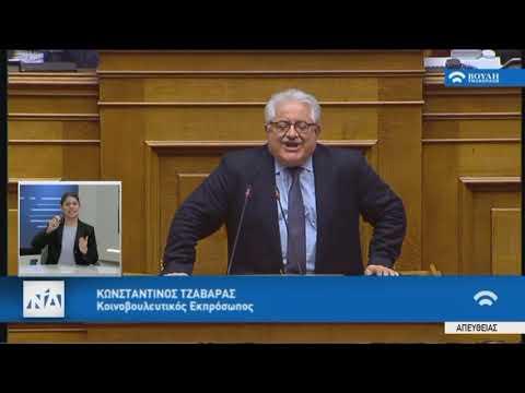 Κ.Τζαβάρας(Κοινοβ. Εκπροσ. ΝΔ)(Αναθεώρηση Συντάγματος)(13/02/2019)