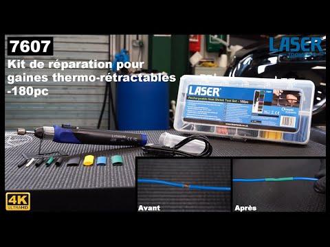 7607: Kit de réparation pour gaines thermo-rétractables -180 pcs