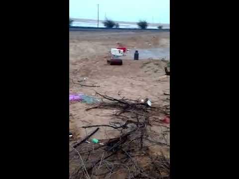صوت القران داخل السيارة وقائدها محمول في الإسعاف !!!