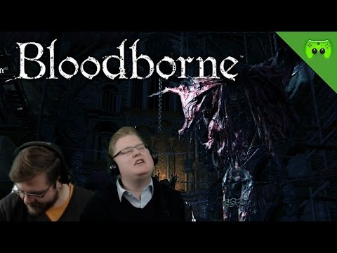 BLOODBORNE # 19 - Lecter war hier «» Let's Play Bloodborne Together   HD Gameplay