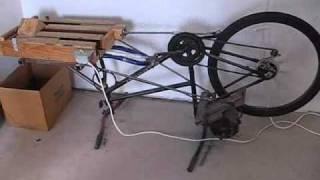 הסבת אופניים ישנות למגרסת פחיות שתייה