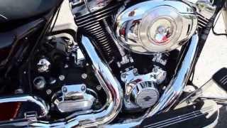 9. 2011 Harley-Davidson FLHX103 Street Glide PowerPak in Merlot Sunglo