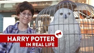 Harry Potter In Real Life - Train Station Surprise!