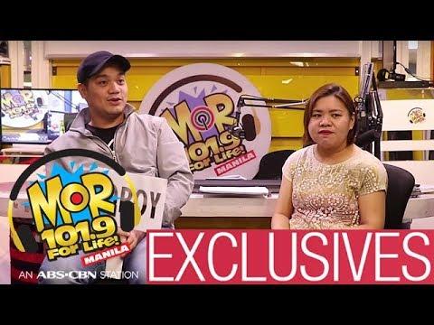 Dear MOR Exclusives: Popoy pranks Jasmin!