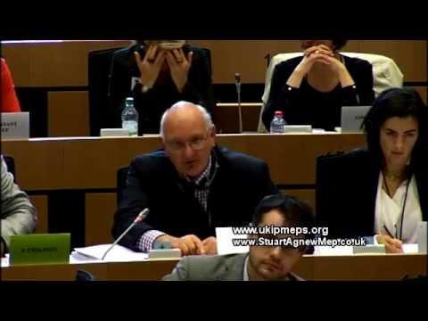 Oral Amendments: Juggling with the Rules - UKIP MEP Stuart Agnew