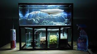 Video Aquarium model 10 - Mini Arowana Fish Tank/ Make Arowana Fish Tank MP3, 3GP, MP4, WEBM, AVI, FLV Juni 2019