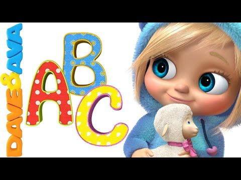 🚂 ABC Song | ABC Songs For Kids | Nursery Rhymes And Kids Songs From Dave And Ava🚂