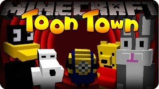Minecraft TOON TOWN! - #1 DESPICABLE ME MINION ARMY! (Toon Town Mod)