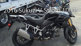 10. 2016 Suzuki V Strom 1000 ABS Adventure Motorcycle Review