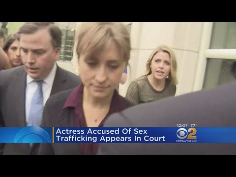 Actress Accused Of Sex Trafficking Appears In Court