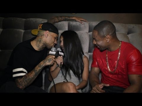 HotNewHipHop - HotNewHipHop (HNHH) sits down with Chris Brown and Tank while on the set of their video for