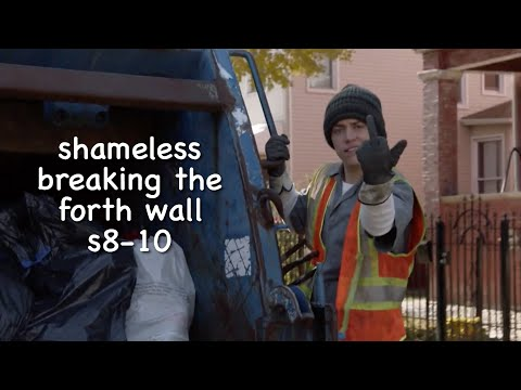breaking the fourth wall in shameless (US) s8-10