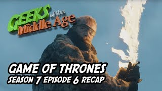 We recap Game of Thrones season 7 episode 6 and its huge zombie battles against zombie bears, zombie kins, and SPOILERS... zombie dragons?!?