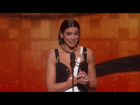 Dua Lipa Wins Best New Artist | 2019 GRAMMYs Acceptance Speech