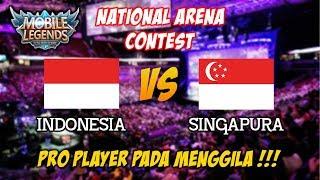 Video Pro Player pada menggila Indonesia vs Singapura National Arena Contest MP3, 3GP, MP4, WEBM, AVI, FLV Desember 2017