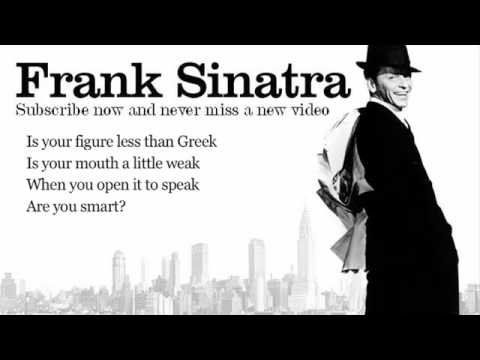 My Funny Valentine Frank Sinatra Lyrics Valentijn Selectie Not for commercial use Education only ! !