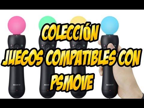 PS MOVE-Mi colección de juegos compatibles con psmove
