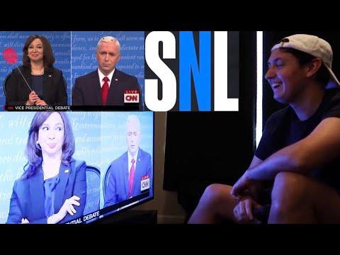 SNL- VP Cold Open REACTION !