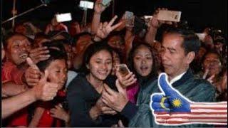 Video Dekat Dengan Rakyat,, Warga Malaysia Iri Dengan Indonesia Karena Miliki Jokowi MP3, 3GP, MP4, WEBM, AVI, FLV Februari 2019