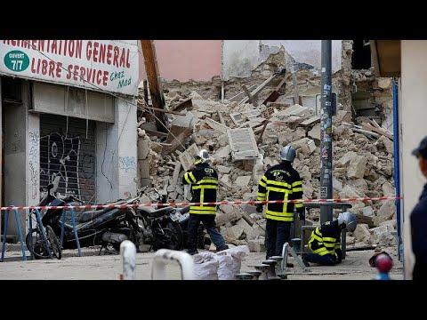 Μασσαλία: Ανασύρθηκε και η πέμπτη σορός από τα ερείπια