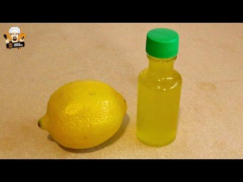 preparare estratto di limone fatto in casa - ricetta