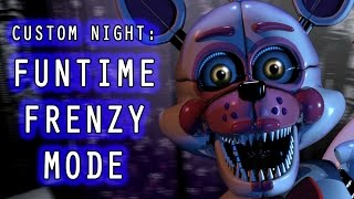 It's a Funtime Frenzy as Funtime Foxy faces off against her friends in the next mode of Sister Location Custom Night! Thanks to PhoenixKev for Funtime Foxy's...