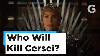 All of the prophecies a witch shared with Cersei came true. Who did the witch predict to take her throne and kill Cersei Lannister?Subscribe to Gizmodo: https://goo.gl/YTRLAEVisit us at: http://www.gizmodo.com/Like us at: https://www.facebook.com/gizmodoFollow us at: https://twitter.com/gizmodoView us: https://www.instagram.com/gizmodo/Watch more from Fusion friends:Fusion: http://fus.in/subscribeF-Comedy: https://goo.gl/Q27Mf7Fusion TV: https://goo.gl/1IbZ1BKotaku: https://goo.gl/OcnXv7Deadspin:  https://goo.gl/An7N8gJezebel:  https://goo.gl/XNsnCJLifehacker:  https://goo.gl/3rNmzwIo9:  https://goo.gl/ismnzPJalopnik:  https://goo.gl/u7sDEkSploid:  https://goo.gl/4yq2UYThe Root: https://goo.gl/QMOjBE
