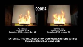 Moderni Izoliacija: Apšiltinimo medžiagų atsparumas ugniai