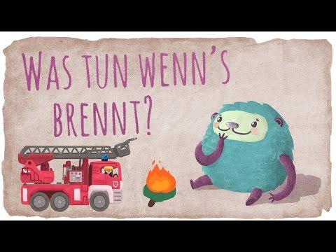 Der Feuerwehr Film mit Flunkeblunk für Kinder - Was zu tun ist, wenn es brennt