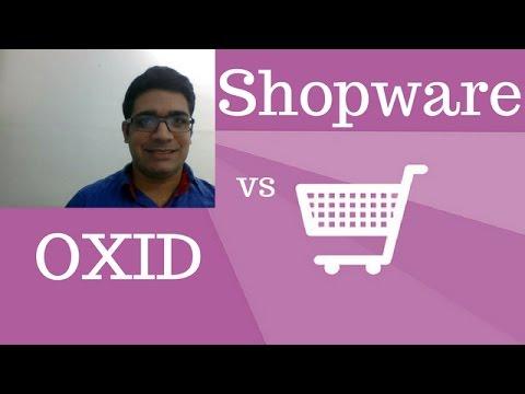 OXID oder Shopware: Ein Vergleich der Onlineshop-Syst ...
