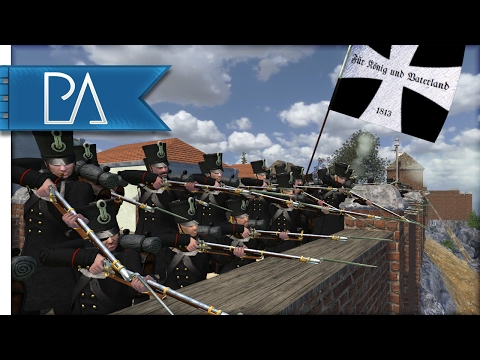 Great Prussia Defense: Napoleonic Fort Battle - Mount and Blade: Napoleonic Wars Gameplay (видео)