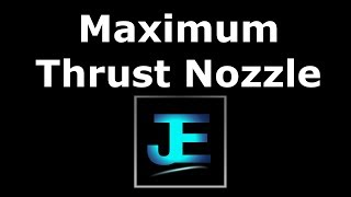 Explained  Maximum Thrust Nozzle Exit Pressure Condition