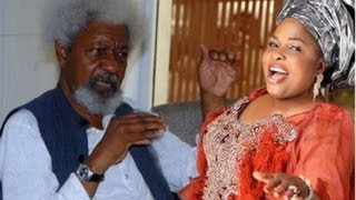Secret Recording of Patience Jonathan vs Wole Soyinka Fighting